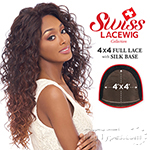 Harlem 125 Synthetic Hair Swiss Lace Wig - FLS02 (4X4 Full Lace with Silk Base)