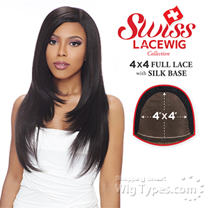 Harlem 125 Synthetic Hair Swiss Lace Wig - FLS12 (4X4 Full Lace with Silk Base)