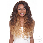 Harlem 125 Synthetic Hair J Part Lace Front Wig - LJ906