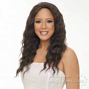 Harlem 125 100% Brazilian Natural Remy Lace Front Wig - BL002