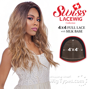 Harlem 125 Synthetic Hair Swiss Lace Wig - FLS11 (4X4 Full Lace with Silk Base)