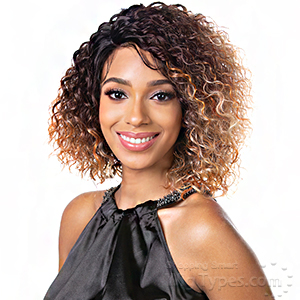 Harlem 125 Gogo Synthetic Hair HD Lace Wig - GL207