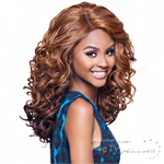 Harlem 125 Kima Synthetic Hair Deep Curved Part Lace Wig - KLW02 (ocean wave medium)
