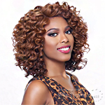 Harlem 125 Kima Synthetic Hair Lace Wig - KLW03 (ripple deep short)