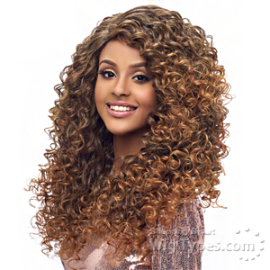 Harlem 125 Synthetic Hair Swiss Lace Deep Curved Part Wig - LSD04