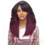 Harlem 125 Synthetic Hair Swiss Lace Deep Curved Part Wig - LSD05