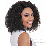 Harlem 125 Synthetic Hair Swiss Lace Deep Curved Part Wig - LSD70