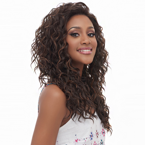 Harlem 125 Synthetic Hair Swiss Lace Wig - LSM05