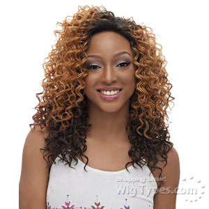 Harlem 125 Synthetic Hair Swiss Lace Wig - LSM06