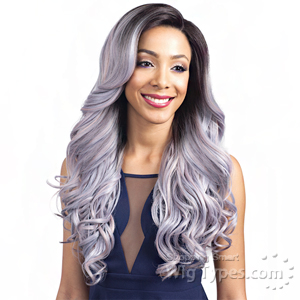 Bobbi Boss Synthetic Swiss Lace Front Wig - MLF158 BALA (5 inch Deep Part)