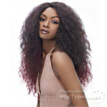 Harlem 125 Ju Collection Synthetic Hair Natural J-Part Wig - JU 910