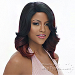 Harlem 125 Ju Collection Synthetic Hair Natural J-Part Wig - JU 911