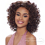 Harlem 125 Ju Collection Synthetic Hair Natural J-Part Wig - JU 916