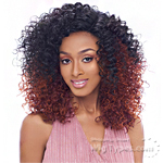Harlem 125 Ju Collection Synthetic Hair Reverse Deep Part Wig - JU 917
