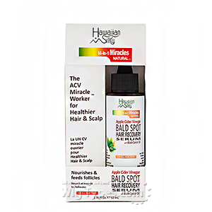 Hawaiian Silky Apple Cider Vinegar Bald Spot Recovery Serum 1.76oz
