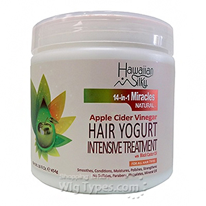 Hawaiian Silky Apple Cider Vinegar Hair Yogurt Intensive Treatment 16oz
