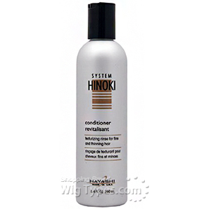 Hayashi System Hinoki Conditioner Texturizing Rinse for Fine and Thinning Hair 8.4oz