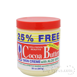 Hollywood Beauty Cocoa Butter Skin Creme 20oz