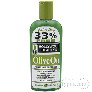 Hollywood Beauty Olive Oil 8oz