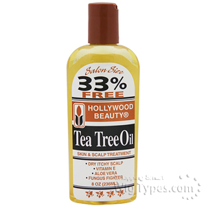Hollywood Beauty Tea Tree Oil 8oz