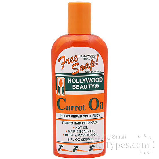 What is carrot oil good for