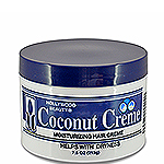 Hollywood Beauty Coconut Creme Moisturizing Hair Creme 7.5oz