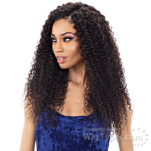 Shake N Go Ibiza 100% Natural Virgin Human Hair 13x5 Lace Closure - SPANISH CURL 16