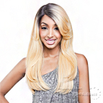 Mane Concept Brown Sugar Human Hair Blend Soft Swiss Lace Wig - BS201