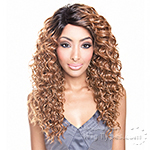 Isis Brown Sugar Human Hair Blend Soft Swiss Lace Wig - BS209