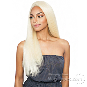 Mane Concept Brown Sugar Human Hair Blend Whole Lace Front Wig - BS408