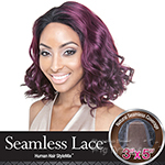 Isis Brown Sugar Human Hair Blend Seamless Lace Wig - BS501 VALENCIA (5X3 Full Lace Front)