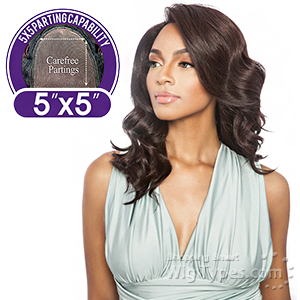 Isis Brown Sugar Human Hair Blend Lace Wig - BS5504 CAPRICORN (5x5 carefree partings)