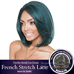 Isis Brown Sugar Human Hair Blend French Stretch Lace Wig - BS701 ECLIPSE (Flexible Stretch Cap Design with Natural Texture)