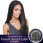 Isis Brown Sugar Human Hair Blend French Stretch Lace Wig - BS703 STARLIGHT (Flexible Stretch Cap Design with Natural Texture)