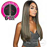 Isis Brown Sugar Human Hair Blend Side 2 Side Lace Front Wig - BSD2603 BARCELONA ARI (6 inch deep lace)