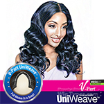 Isis Brown Sugar Human Hair Blend Uniweave V Part Wig - BSUW02 LOOSE WAVE 20