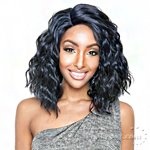 Isis Brown Sugar Human Hair Blend Full Wig - BS129 (tweezed)