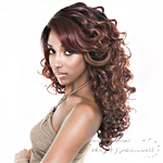 Isis Brown Sugar Human Hair Blend Soft Swiss Lace Wig - BS217