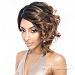 Isis Brown Sugar Human Hair Blend Soft Swiss Lace Wig - BS218