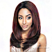 Isis Brown Sugar Human Hair Blend Soft Swiss Lace Wig - Bs223