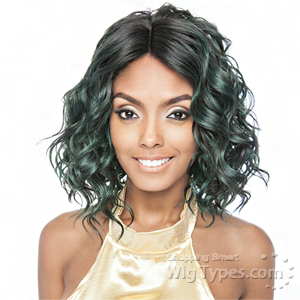 Isis Brown Sugar Human Hair Blend Soft Swiss Lace Wig - BS224
