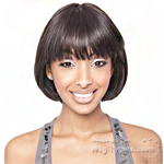 Isis Brown Sugar Human Hair Blend Whole Lace Front Wig - BS403