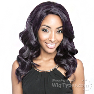 Isis Brown Sugar Human Hair Blend Whole Lace Front Wig - BS404
