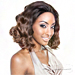 Isis Brown Sugar Human Hair Blend Seamless Lace Wig - BS501 VALENCIA
