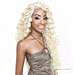 Isis Brown Sugar Human Hair Blend Seamless Lace Wig - BS503 TAHITI (5X3 Full Lace Front)