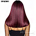 Isis Brown Sugar Human Hair Blend Side 2 Side Lace Front Wig - BSD2607 PHEONIX ARI 16 (6 inch deep lace)