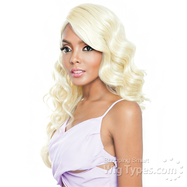 f8ed2cb0e46f Isis Brown Sugar Human Hair Blend Frontal Lace Front Wig - BSF03 (13x4 Lace  Closure