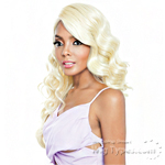 Isis Brown Sugar Human Hair Blend Frontal Lace Front Wig - BSF03 (13x4 Lace Closure Wig)