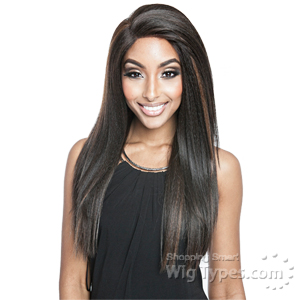Isis Brown Sugar Human Hair Blend Frontal Lace Front Wig - BSF05 (13x4 Lace Closure Wig)