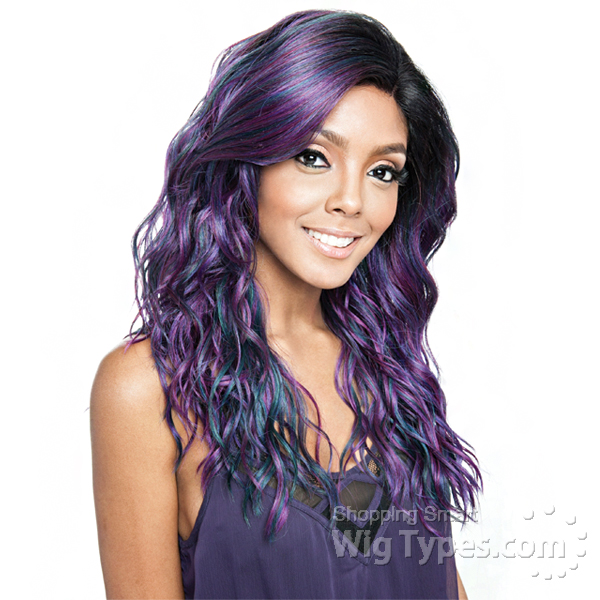 8415408c7174 Isis Brown Sugar Human Hair Blend Frontal Lace Front Wig - BSF08 (13x4 Lace  Closure